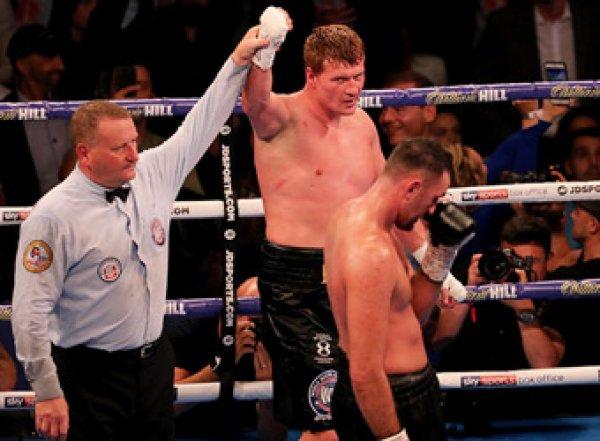 Поветкин триумфально разгромил Фьюри в бою за титул WBA