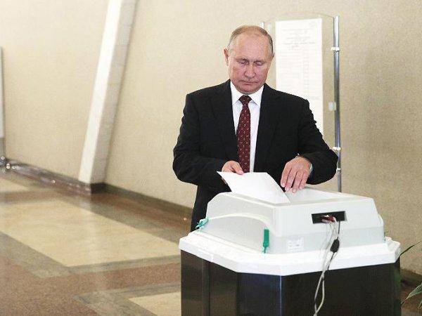 Путин проголосовал на выборах в Мосгордуму, удивив СМИ признанием