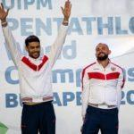 Россияне Александр Лесун и Данил Калимуллин – бронзовые призёры в эстафете на Чемпионате мира по современному пятиборью