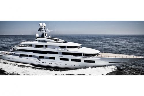 DreAMBoat Длина: 90 метров Верфь и год постройки: Oceanco, 2019 год Владелец: Артур Бланк DreAMBoat построена для американского миллиардера Артура Бланка — владельца сети строительных магазинов. Его инициалы крупными буквами изображены в логотипе яхты. Oceanco — верфь на который была построена яхта — в последние годы стабильно набирает обороты в сегменте крупных яхт и стала серьёзным конкурентом таким верфям как Lurssen и Fedship.
