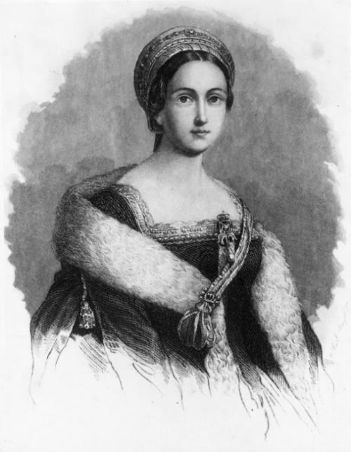 Анна Болейн Её нельзя было назвать первой красавицей, но Анна Болейн была умна, обаятельна и довольно мила. Когда Генрих VIII стал оказывать даме знаки внимания, Анна вела себя сдержанно и строго. Она совершенно не прельщалась перспективой стать очередной фавориткой короля. А другого статуса он ей предложить не мог, поскольку состоял в браке с Екатериной Арагонской. Генрих VIII был настолько очарован девушкой, что решился на аннулирование брака. В результате король женился на возлюбленной. Влияние второй жены на короля переоценить невозможно: она принимала послов, активно участвовала в политической жизни. В жестком правлении Генриха VIII также обвиняли Анну. Когда же сам король охладел к супруге, то дождался её выздоровления после очередного выкидыша и обвинил в том, что она насильно его женила на себе, попросту околдовав. В итоге Анну казнили.