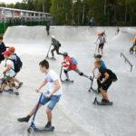 Скейтпарк площадью 800 квадратных метров открылся в Наро-Фоминске