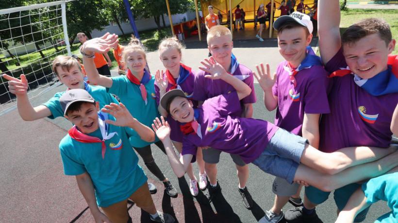 Свыше 133 тысяч детей отдохнули в 1179 летних лагерях в Подмосковье