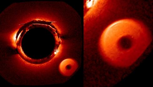 Телескоп SOHO заснял вошедшую в Солнечную систему Нибиру