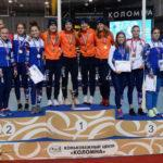 Три спортсмена из Московской области завоевали медали на международном турнире по шорт-треку в Коломне