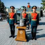 У памятника Сынам России в словенской Любляне зажгли Вечный огонь