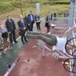В Наро-Фоминске открылась площадка для занятий воркаутом