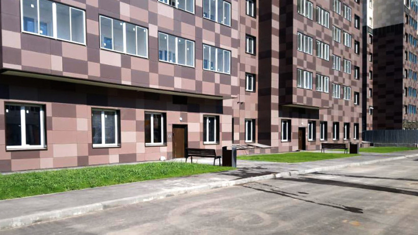 В жилом комплексе «Новые Котельники» завершили строительство одного из корпусов
