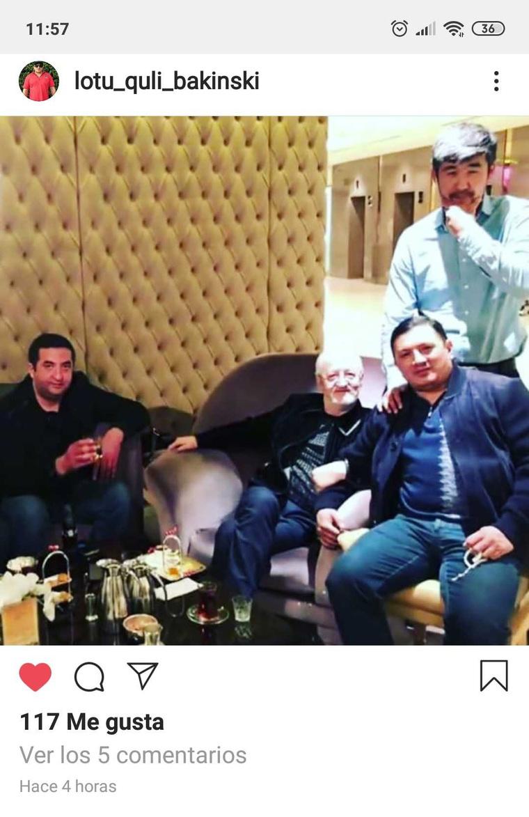 """Вор в законе Гули показал фото с Диким Арманом, избившим в его присутствии """"законнника"""" Квежоевича"""