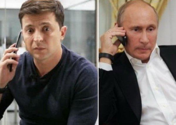 Зеленский о разговоре с Путиным: «Мы договорились о прекращении войны и возвращении территорий»