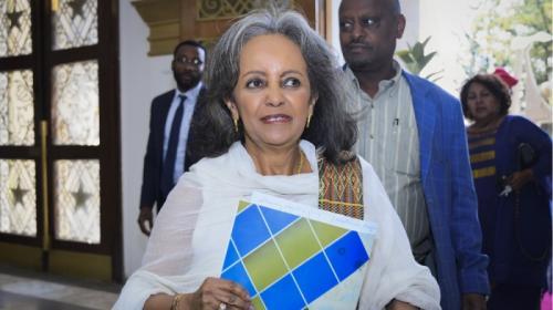 Сахле-Ворк Зевде, Эфиопия На протяжении многих лет Сахле-Ворк Зевде занималась дипломатической деятельностью, была послом Эфиопии в нескольких странах, активно сотрудничала с ООН, была специальным представителем этой организации, возглавляла её отделение при Африканском союзе, была гендиректором ООН в Найроби. А в 2018 стала первой женщиной, занявшей пост президента Эфиопии.
