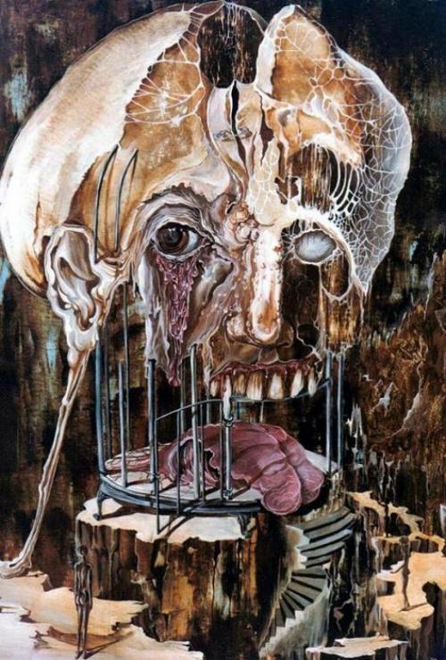 20 самых страшных картин великих художников