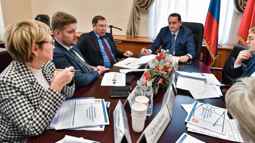 Андрей Разин отчитался об итогах реализации программы «Сельское хозяйство Подмосковья»