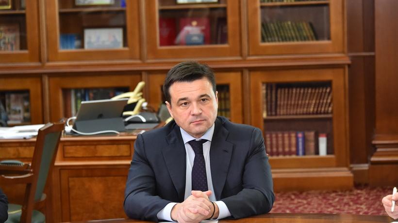 Андрей Воробьев пожелал новых побед бойцу Нурмагомедову