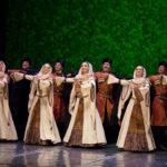Ансамбль танца «Лезгинка» принимает эстафету «Русских сезонов» в Германии