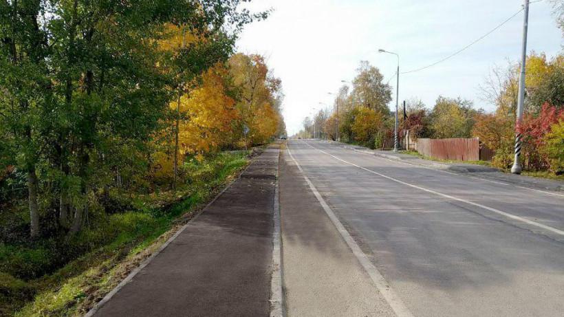 Более 10,5 км новых тротуаров построили в Истре
