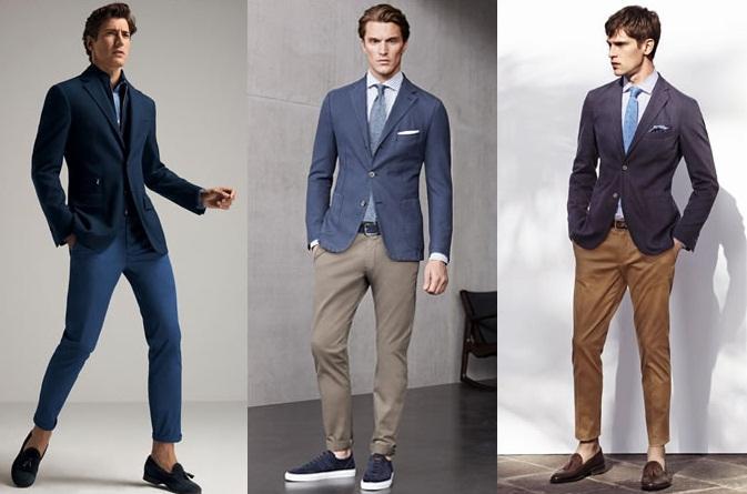 ТОП-5 стильных образов с зауженными мужскими брюками