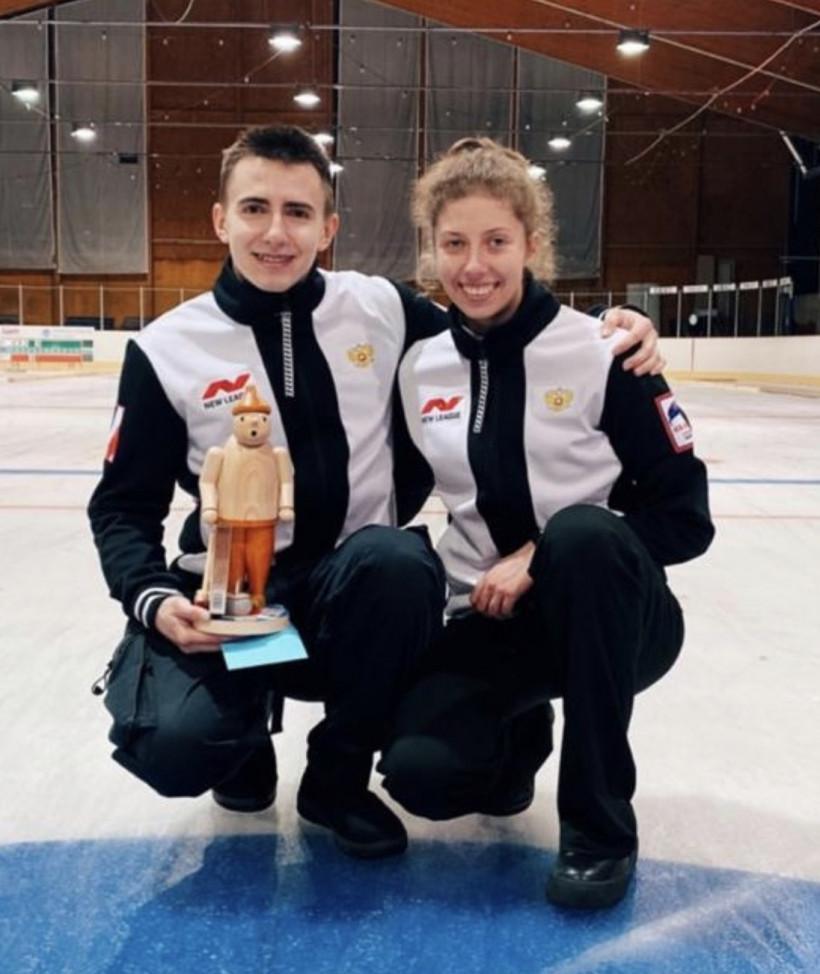 Дарья Морозова завоевала серебряную медаль на международных соревнованиях по керлингу