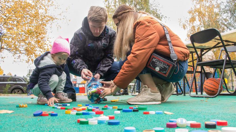 Дети на юге Подмосковья приняли участие в благотворительной акции «Добрые крышечки»