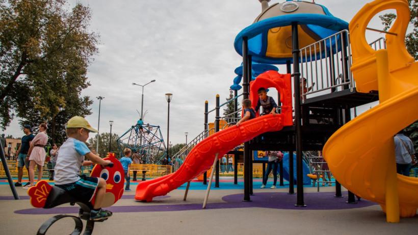 Детскую площадку откроют в Центральном парке Реутова в четверг
