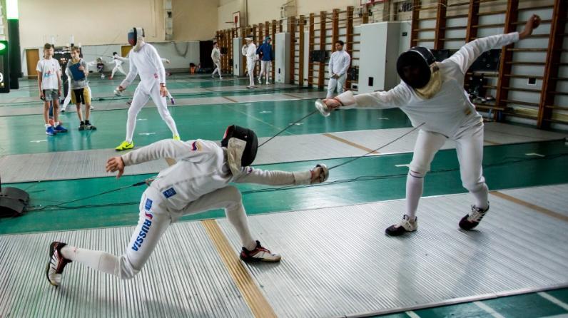Дмитрий Швелидзе выиграл всероссийские соревнования по фехтованию