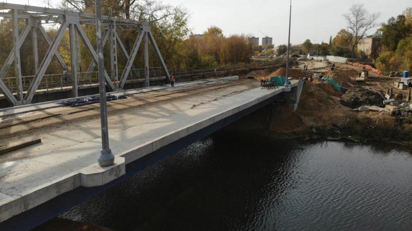 Движение по строящемуся мосту через Клязьму в Щелкове запустят в ноябре