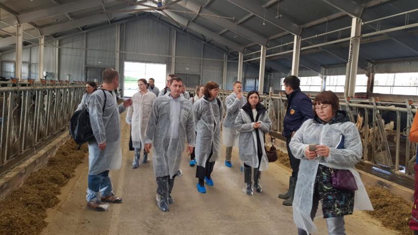 Фермеры и ветеринары Подмосковья поделились опытом с коллегами из Новой Зеландии
