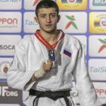 Георгий Елбакиев завоевал серебряную медаль на первенстве Мира по дзюдо
