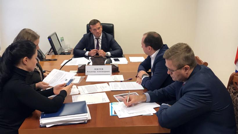 Глава Минстроя Московской области Владимир Локтев провел личный прием граждан