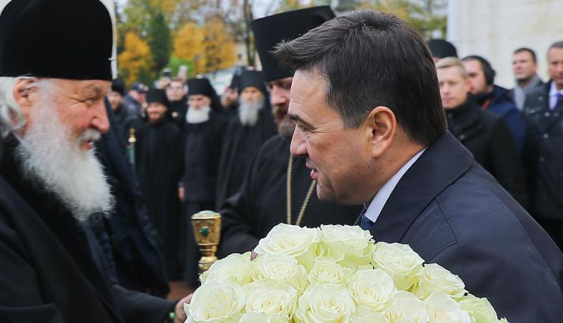 Губернатор поздравил православных региона с Днем преставления преподобного Сергия Радонежского