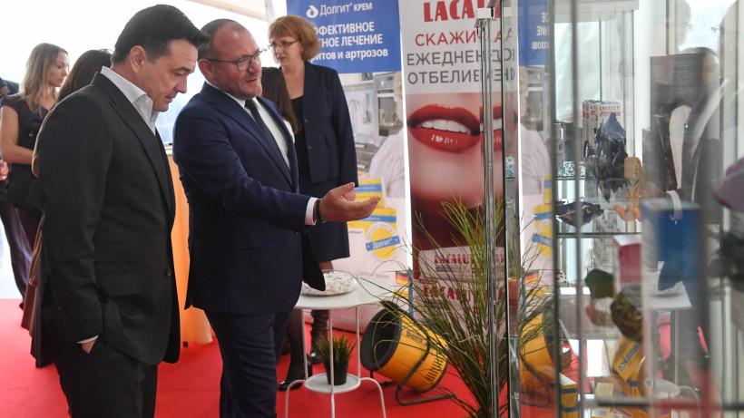 Губернатор заложил камень в основание нового производственно-складского комплекса в Богородске