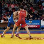 Илья Борисов завоевал золотую медаль на Всероссийских соревнованиях по греко-римской борьбе