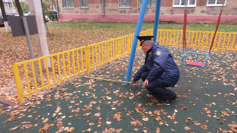 Инспекторы Госадмтехнадзора привели в порядок 27 детских площадок в 9 округах за неделю