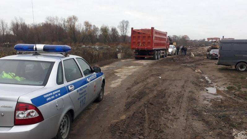 Инспекторы эконадзора пресекли попытку организации незаконной свалки в Раменском округе