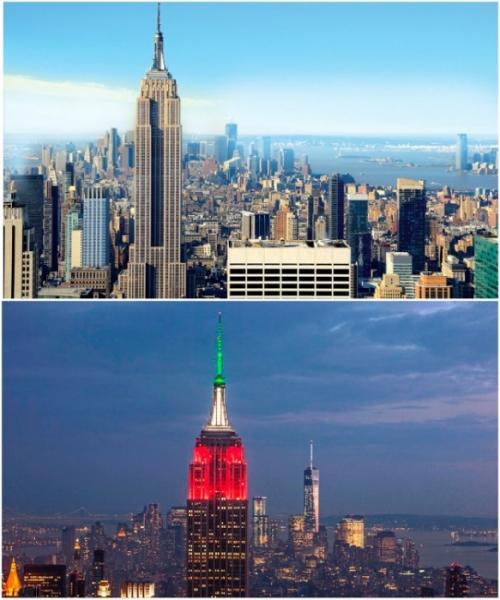 4. Небоскреб-спасательСказать, что с самым культовым небоскребом в мире связан курьезный случай – это ничего не сказать. Уже более 80 лет Эмпайр-Стейт-Билдинг, расположенный на Манхэттене, считается самым посещаемым и знаменитым местом. Даже несмотря на то, что рекорд высоты уже давно побили и его 443 м. уже никого не впечатляют, но вот множество интересных историй связанных как с созданием великана, так и длительным периодом эксплуатации витают миром. Самым сногсшибательным считается случай, произошедший в 1979 г. когда Эльвита Адамс решила покончить жизнь самоубийством. Свести счеты с жизнью она попыталась с помощью Эмпайр-Стейт-Билдинг, для этого американка поднялась на 86 этаж небоскреба и спрыгнула, но порыв сильного ветра ...забросил ее назад. Приземлилась женщина на козырек 85 этажа, отделавшись легким испугом и переломом бедра.