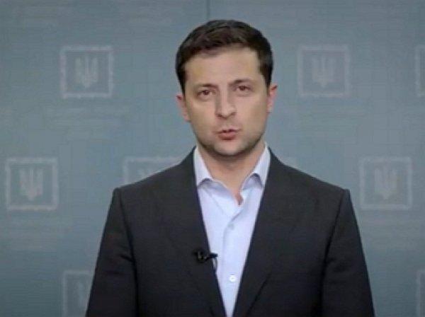 «Я слышу вас»: Зеленский отреагировал видеобращением на протесты против «формулы Штайнмайера»