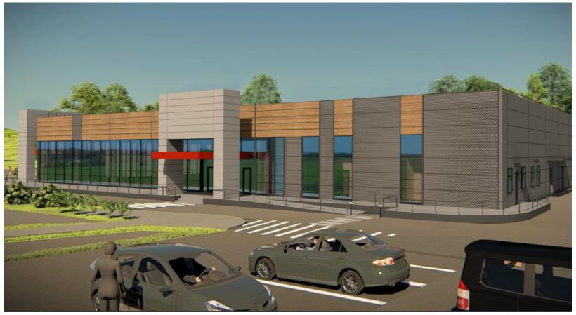 Мособлархитектура согласовала облик магазина в городском округе Лосино-Петровский
