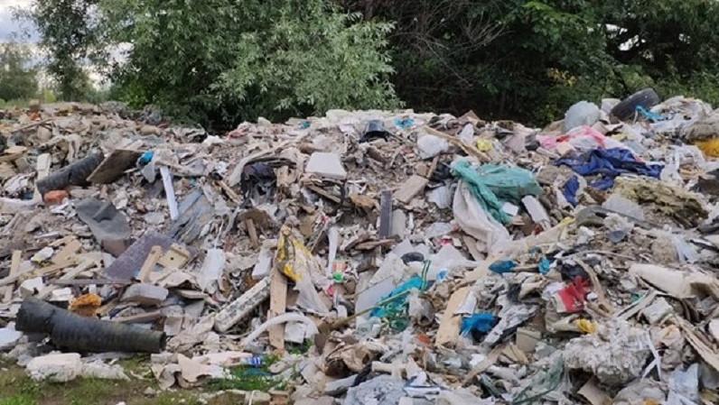 Незаконную свалку ликвидировали в городском округе Истра