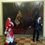 Ночь исскуств в Вольском краеведческом музее