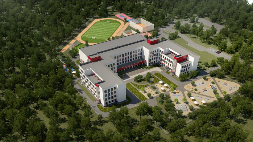 Новая школа для 1100 учащихся в Дмитрове появится в 2021 году
