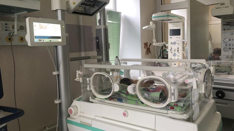 Оборудование для спасения новорожденных поступило в областной НИИ акушерства и гинекологии