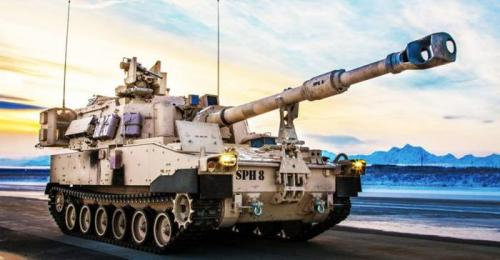 5. M-109A6 Paladin Самоходная артиллерия (как и полевая) никогда не была сильной стороной американской армии. Традиционно лучшие САУ и пушки в армии России. Впрочем, недооценивать мощь M-109A6 Paladin также не стоит. Своим 155-мм оружием эта САУ может легко перевернуть ход сражения.