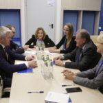 Павел Колобков обсудил с президентом Международной федерации санного спорта Йозефом Фендтом проведение международных соревнований в России