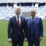 Павел Колобков провёл встречу с президентом Глобальной ассоциации спортивных федераций Рафаэлем Кьюлли