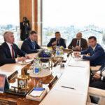 Павел Колобков встретился с Президентом Татарстана Рустамом Миннихановым и принял участие в заседании Набсовета Дирекции спортивных и социальных проектов