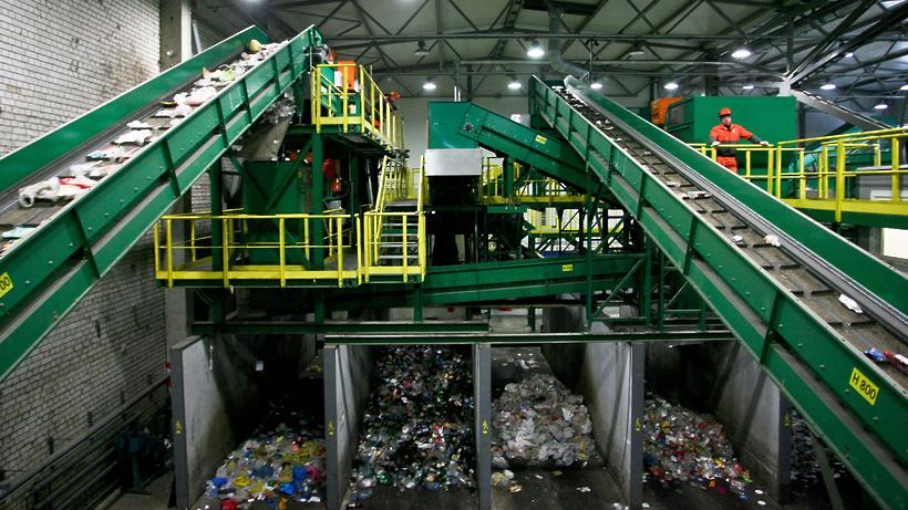 Первую линию комплекса по переработке отходов «Юг» запустили в Подмосковье