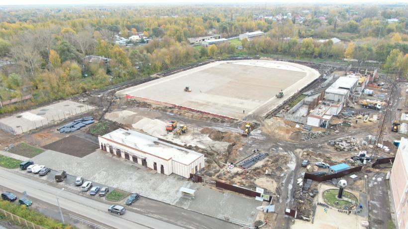 Первый этап реконструкции стадиона в Орехово-Зуеве завершат во II квартале 2020 года