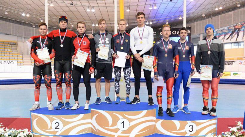 Подмосковные конькобежцы завоевали 10 медалей Кубка России