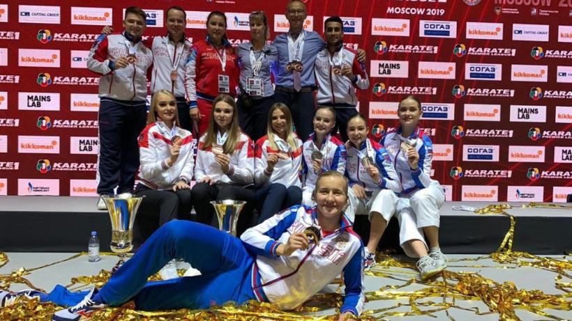 Подмосковные спортсмены завоевали 7 медалей на международных соревнованиях по каратэ