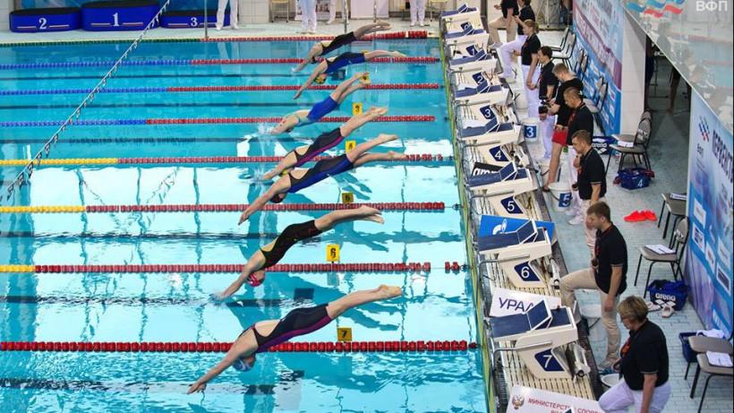 Подмосковные спортсмены завоевали девять медалей на чемпионате по плаванию